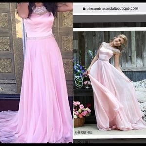 Sherri hill Light pink dress